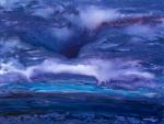 painting - deep purple storm