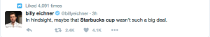 Twitter- Red Cup